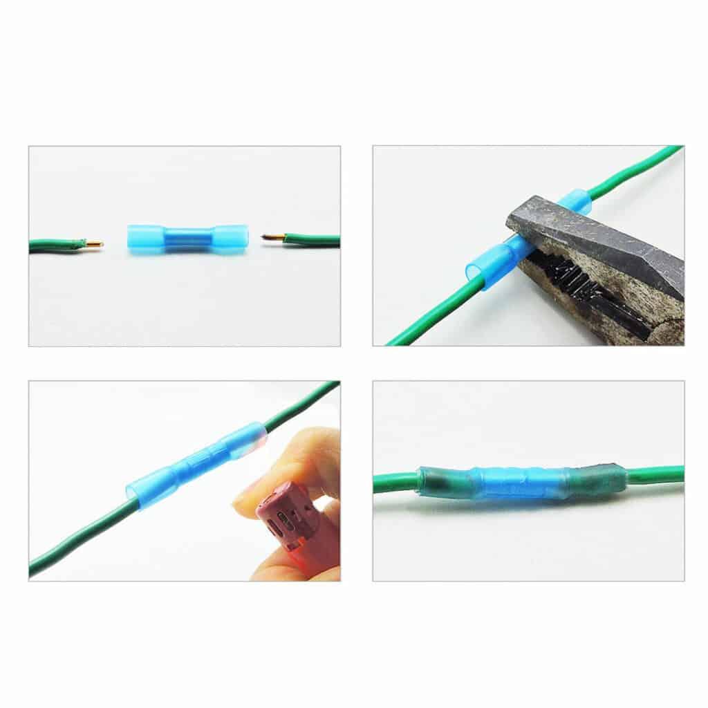 Kabelverbinder 1.5mm-2.5mm (Blauw) Krimp (Set van 10 Stuks ...